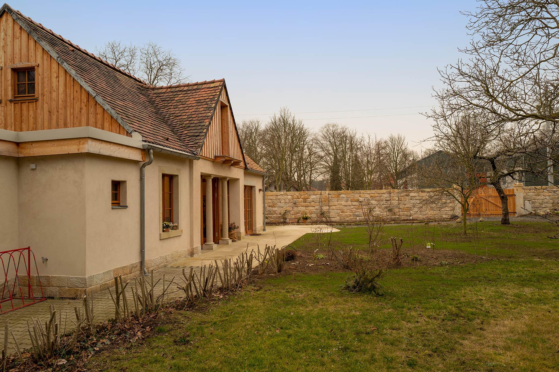 Ferienhaus - direkt am Schlosspark Pillnitz