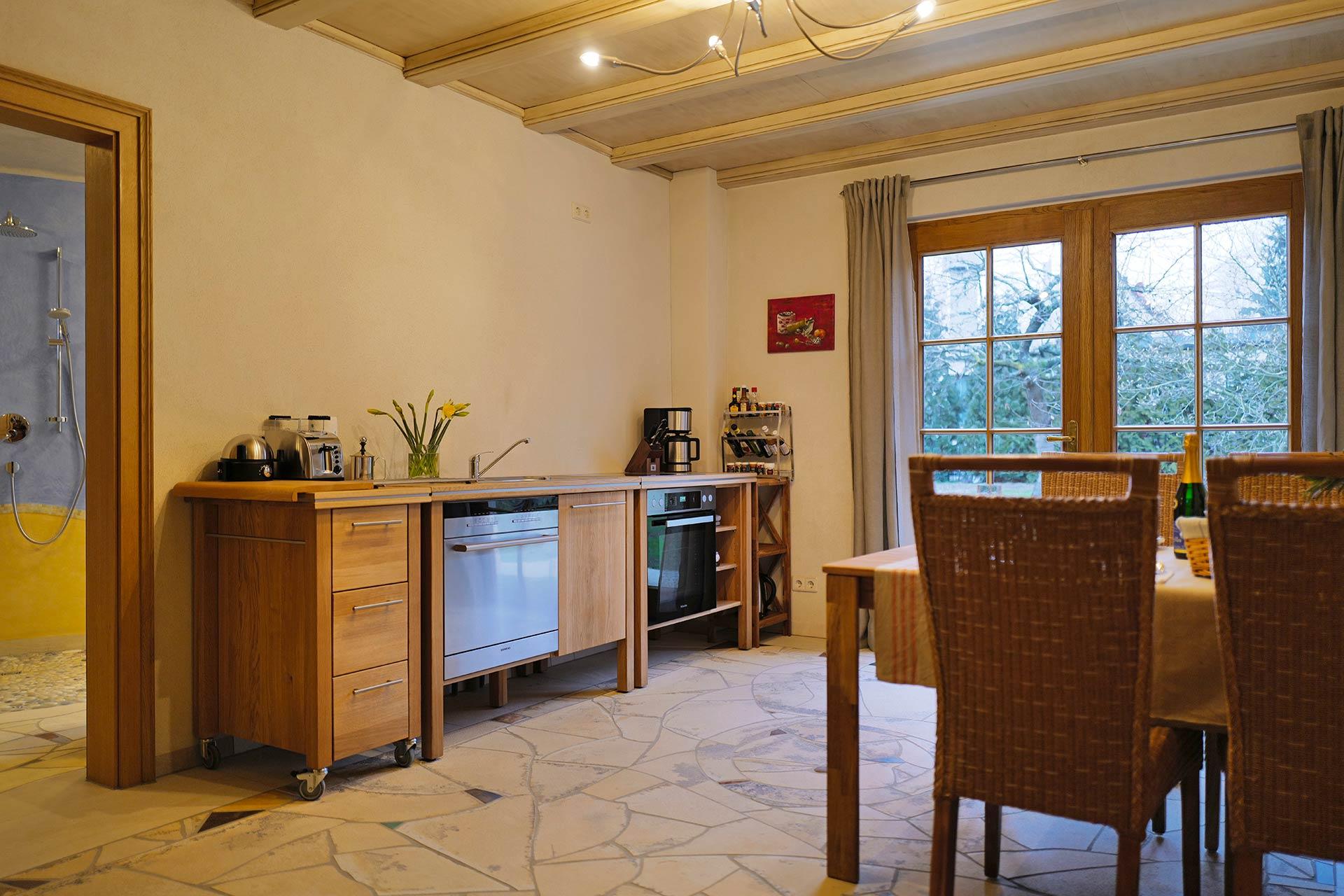 Küche - Liebevoll eingerichtet